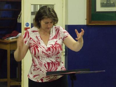 Melanie Doyle previous musical director